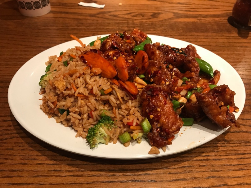 Kung Pao Chicken, extra spicy